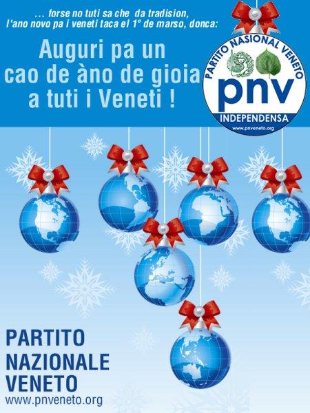 Auguri pa un 2008 more Veneto de gioia e libartà!!