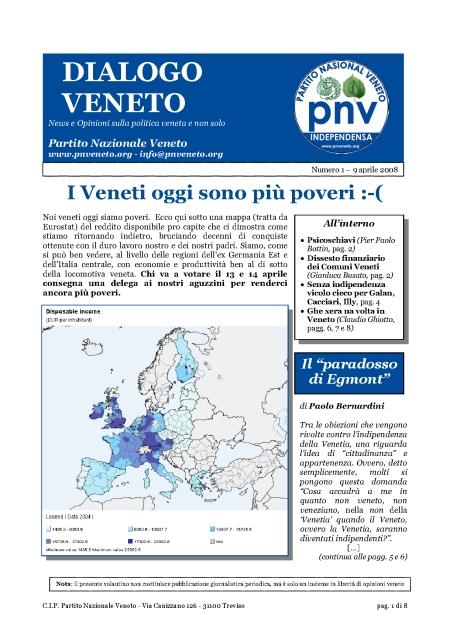Dialogo Veneto - numero del 9 aprile 2008