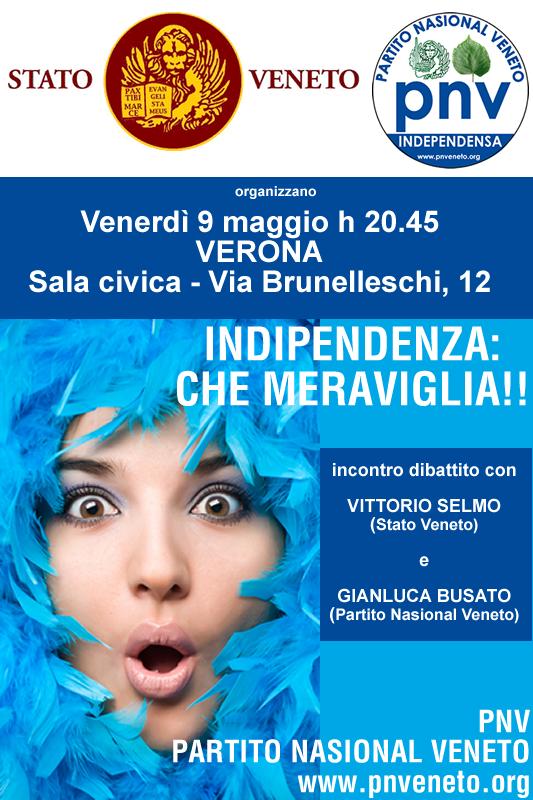 Verona, 9 maggio h. 20.45: \