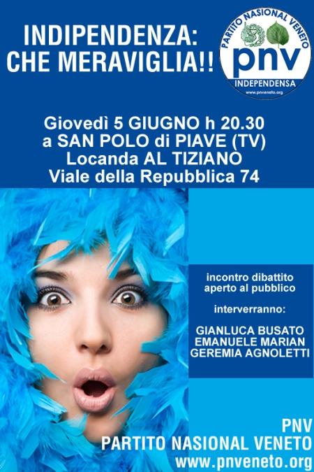 Incontro del PNV a San Polo di Piave (5 giugno 2008)