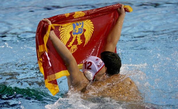 El Montenegro canpion d\'Europa de palanuoto