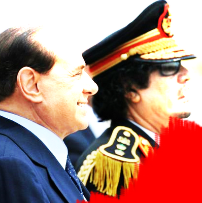 nonleggerlo gheddafi berlusconi